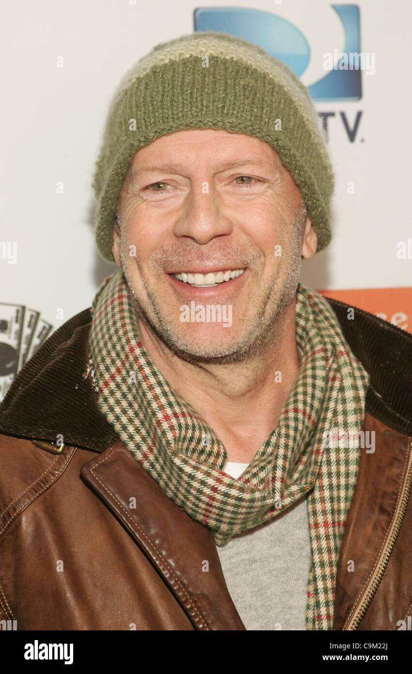 Bruce Willis at the after-party for LAY THE FAVORITE Post-Premiere Cast Party at the 2012 Sundance Film Festival, - Stock Image
