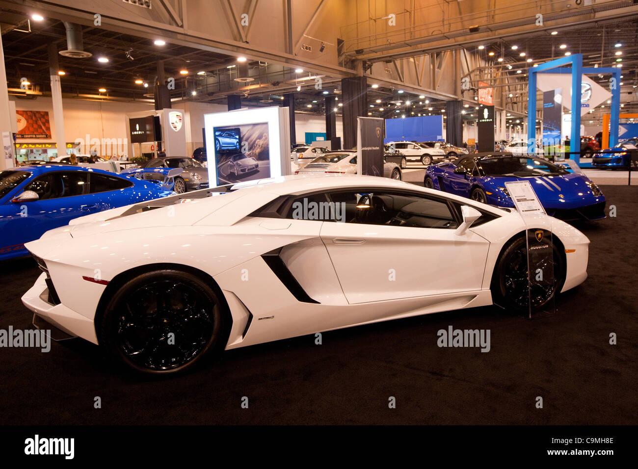 Jan 25 2012 Houston Texas U S 2012 Lamborghini Aventador