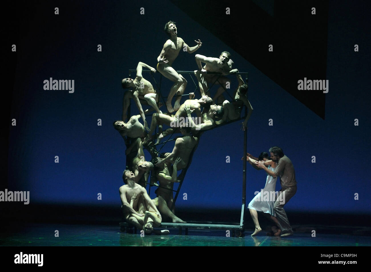 January 23,2012.St.Petersburg,Russia. Pictured: Rodin ballet performed by St.Petersburg State Academic Ballet Theatre - Stock Image