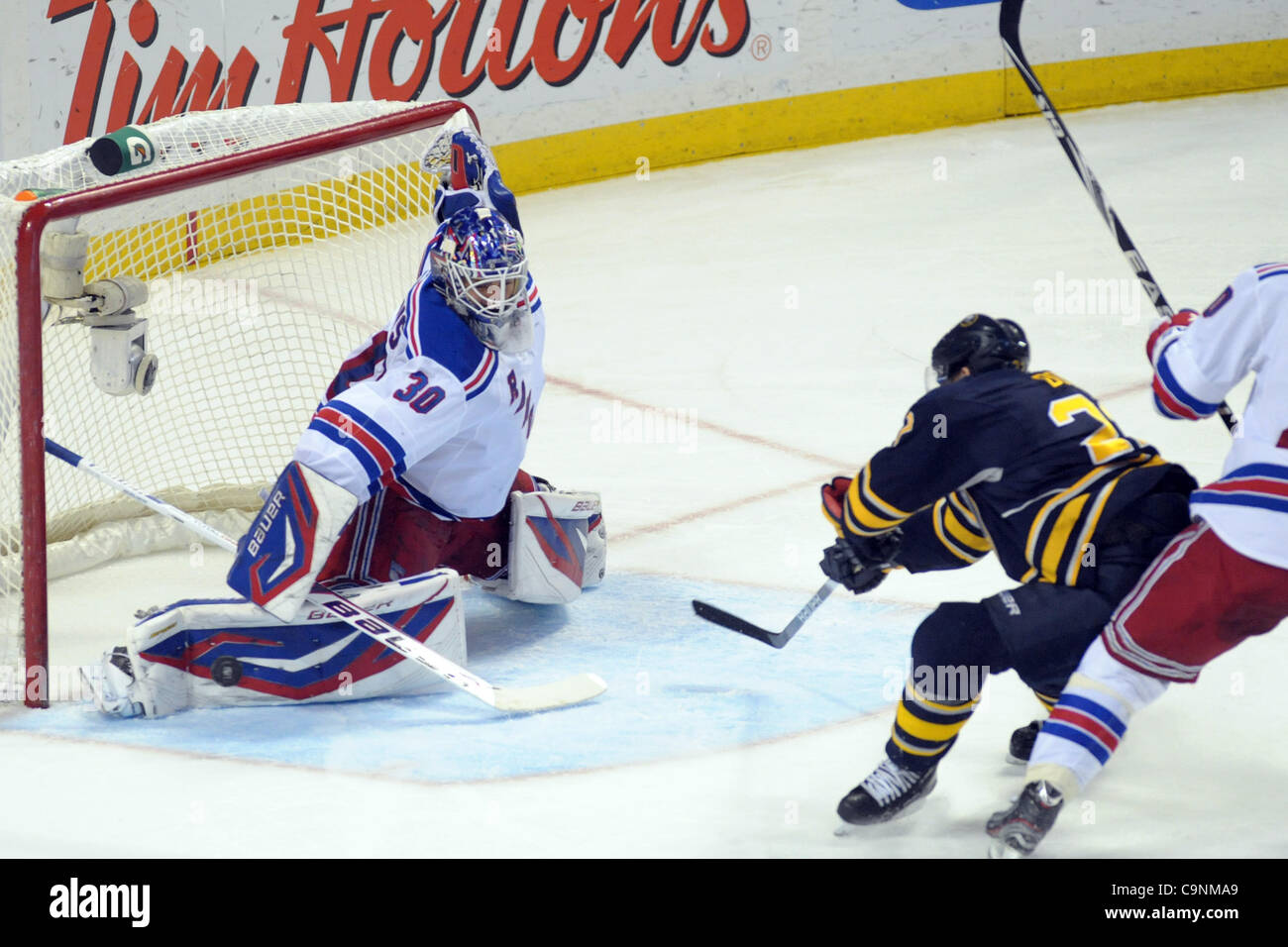 Feb 1 2012 Buffalo New York U S New York Rangers Goalie