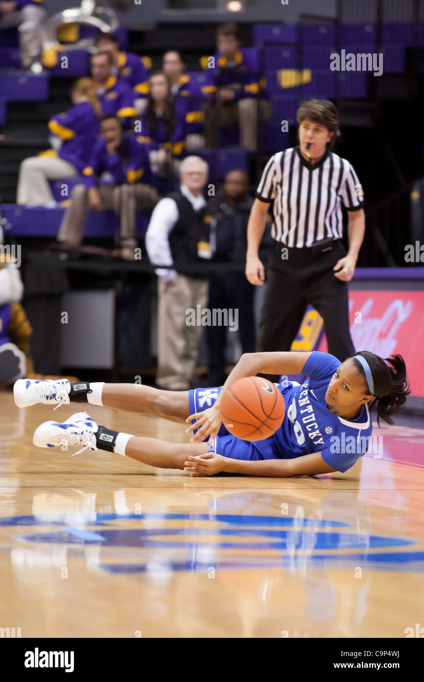 Feb. 5, 2012 - Baton Rouge, Louisiana, United States of America - Kentucky Wildcat guard Maegen Cornwright (20) - Stock Image