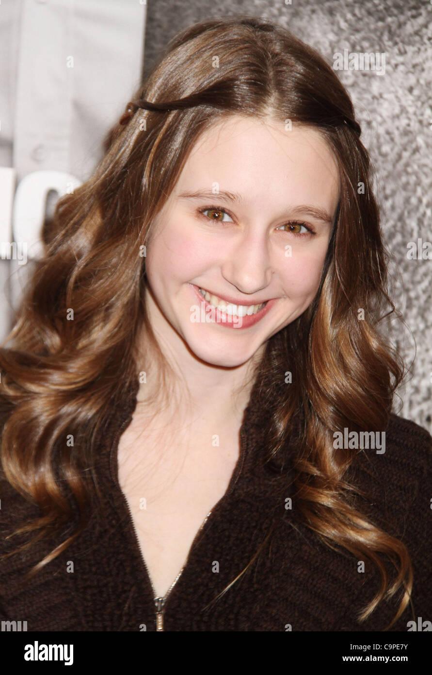 Feb. 7, 2012 - New York, New York, U.S. - Actresses TAISSA FARMIGA attends the New York premiere of 'Safe House' - Stock Image