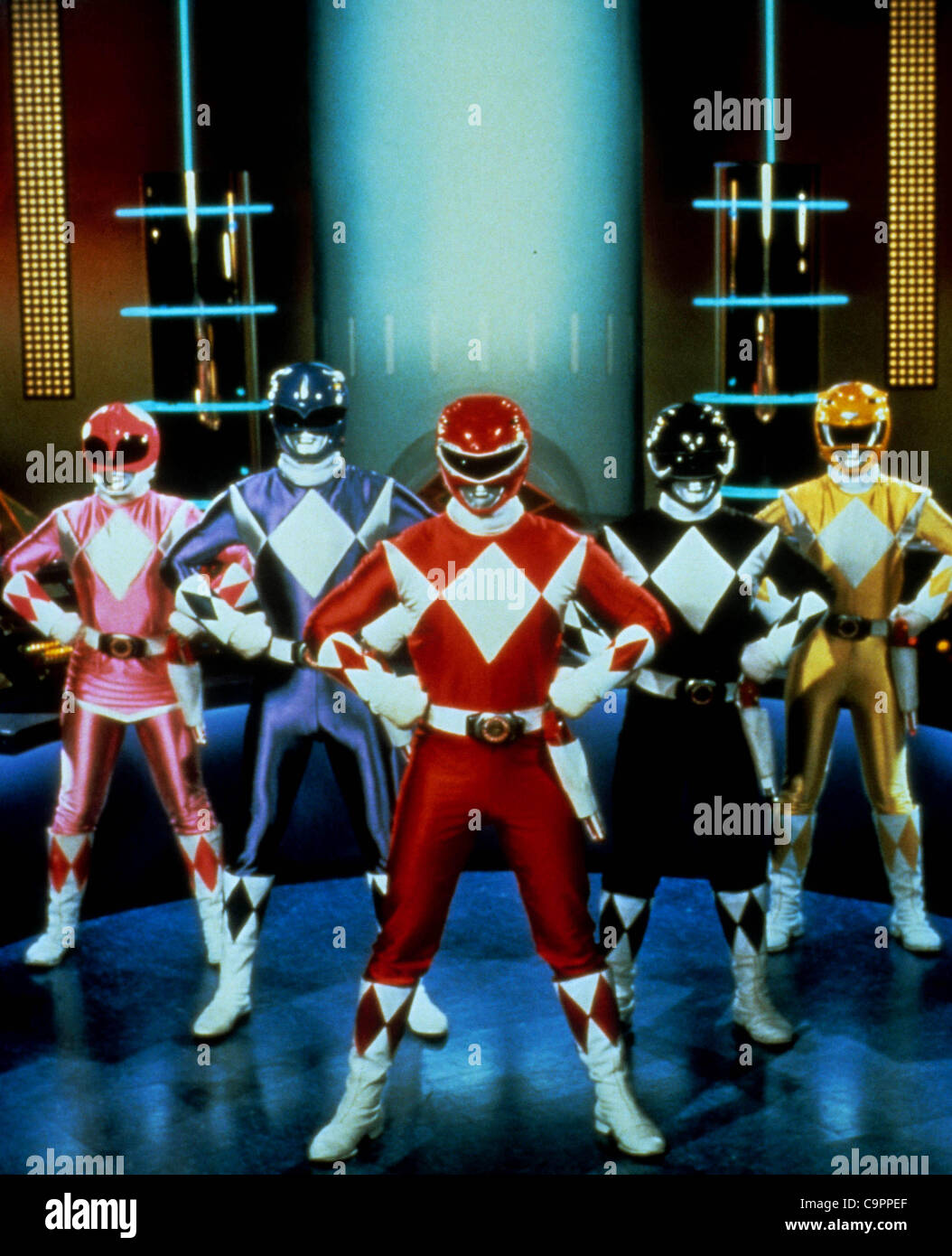 Exact Date Unknown.A11350ADH.MIGHTY MORPHIN' POWER RANGERS. 01/01/1995(Credit Image: © Alan Derek - Stock Image