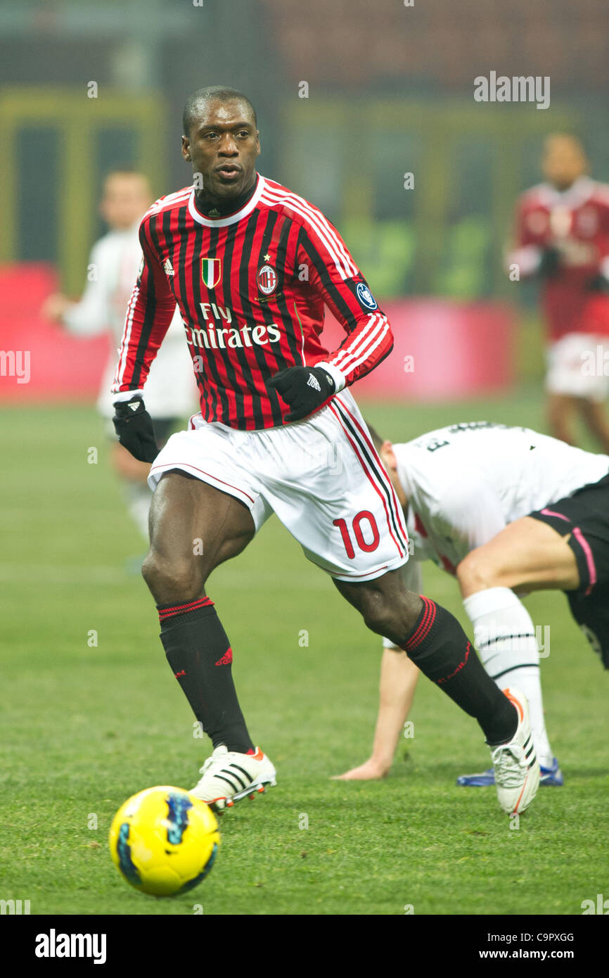 Clarence Seedorf (Milan), FEBRUARY 8, 2012 - Football / Soccer Stock Photo: 40456432 - Alamy