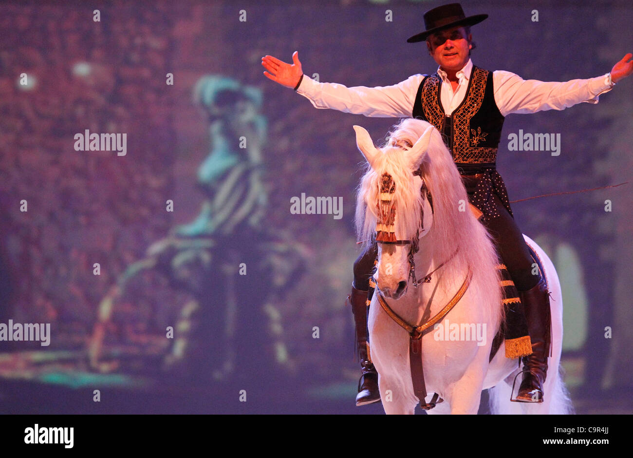 Apassionata / Die neue Show 2012 vom 10.02.2012 aus Basel / 100212 / 2012 / Europas erfolgreichste Unterhaltungsshow - Stock Image