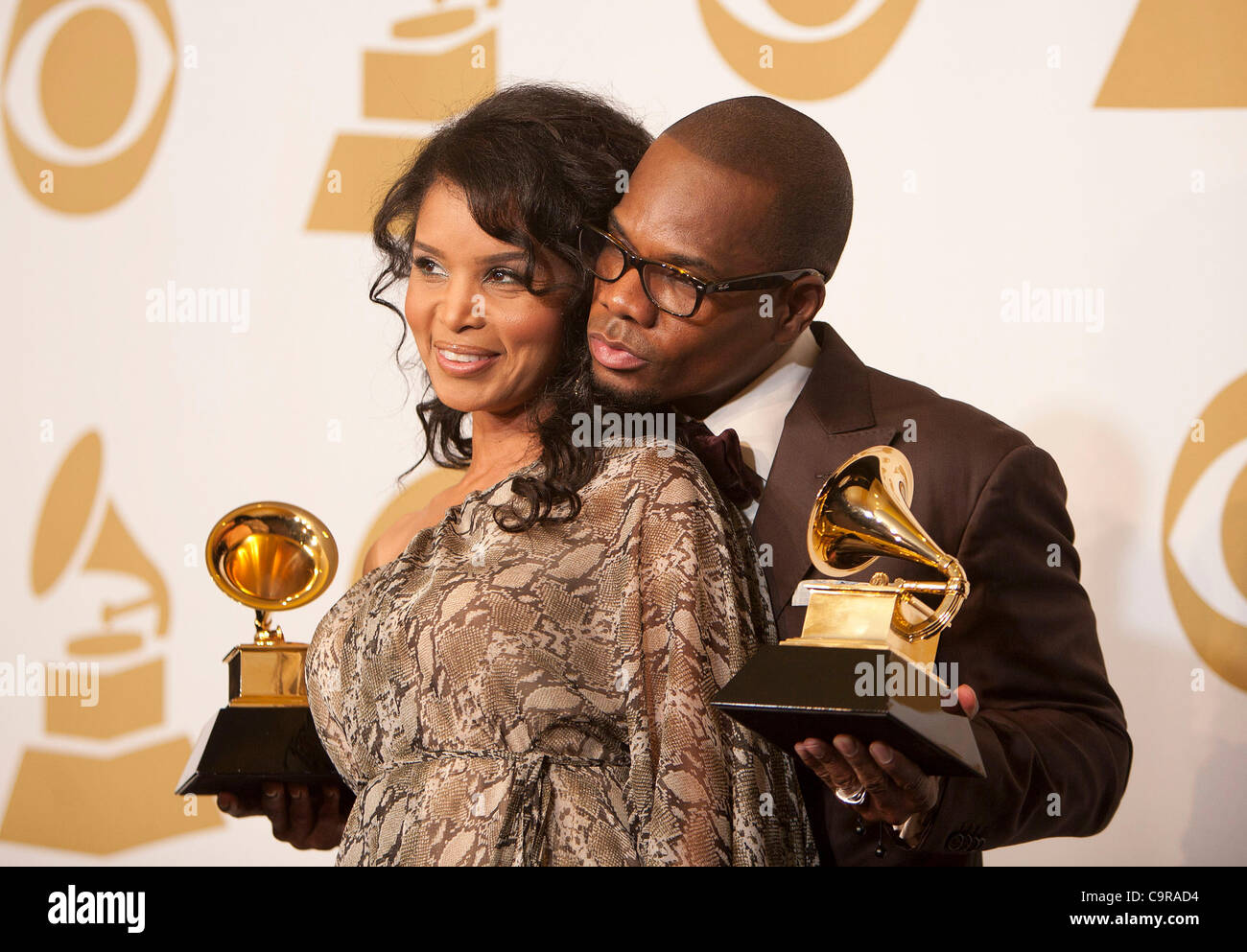 Kirk Franklin And Tammy Franklin Stock Photos & Kirk Franklin And ...