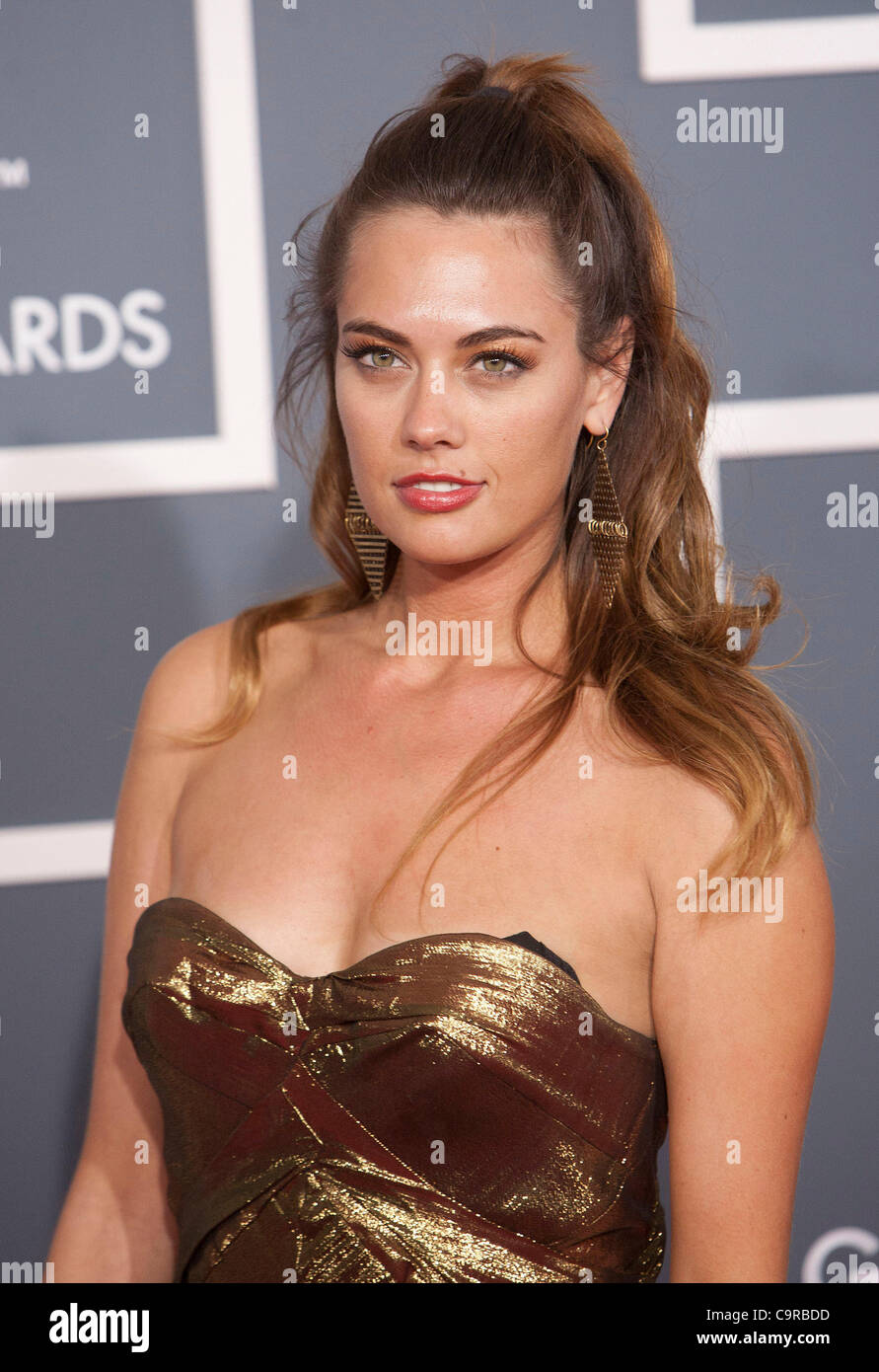 8dce8d43416d ... cc sheffield on the red carpet of the 54th annual grammy awards at the  staples center ...