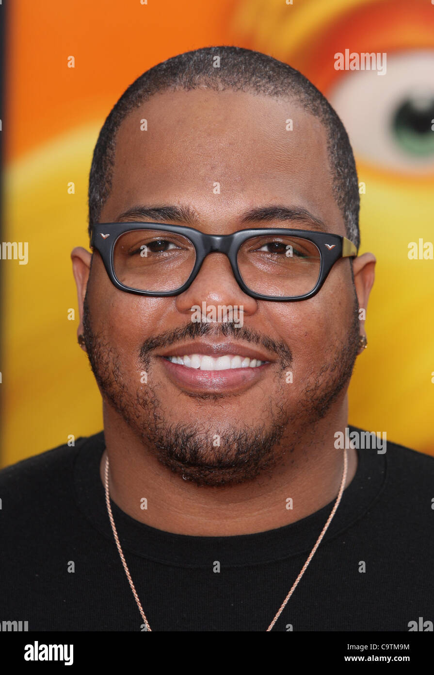 CHRISTOPHER STEWART AKA TRICKY DR. SEUSS' THE LORAX. WORLD PREMIERE UNIVERSAL CITY LOS ANGELES CALIFORNIA USA 19 Stock Photo
