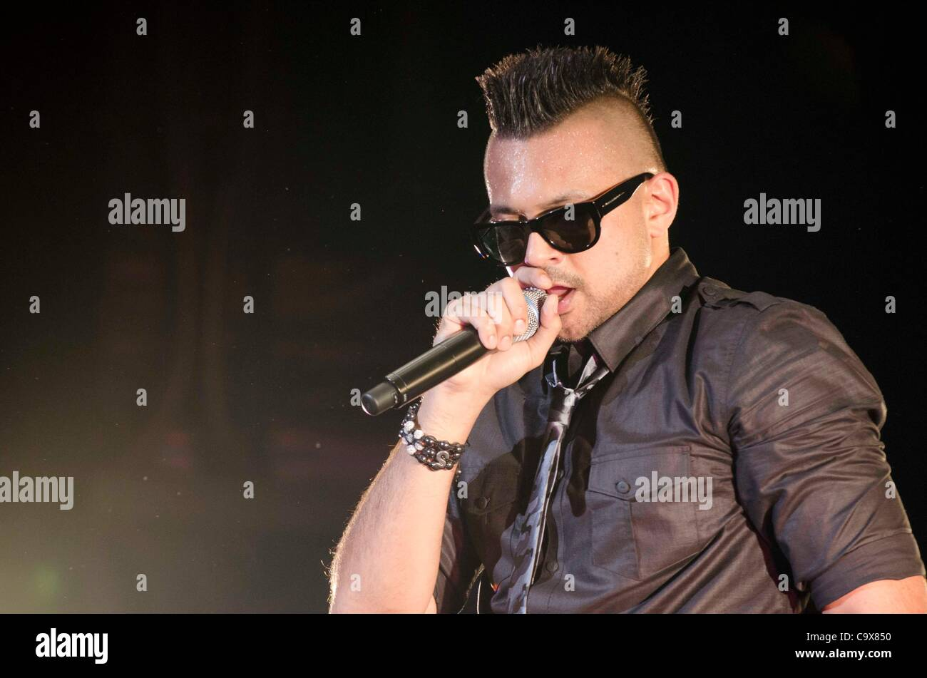 February 28th, 2012 : Tokyo, Japan – Sean Paul appears at