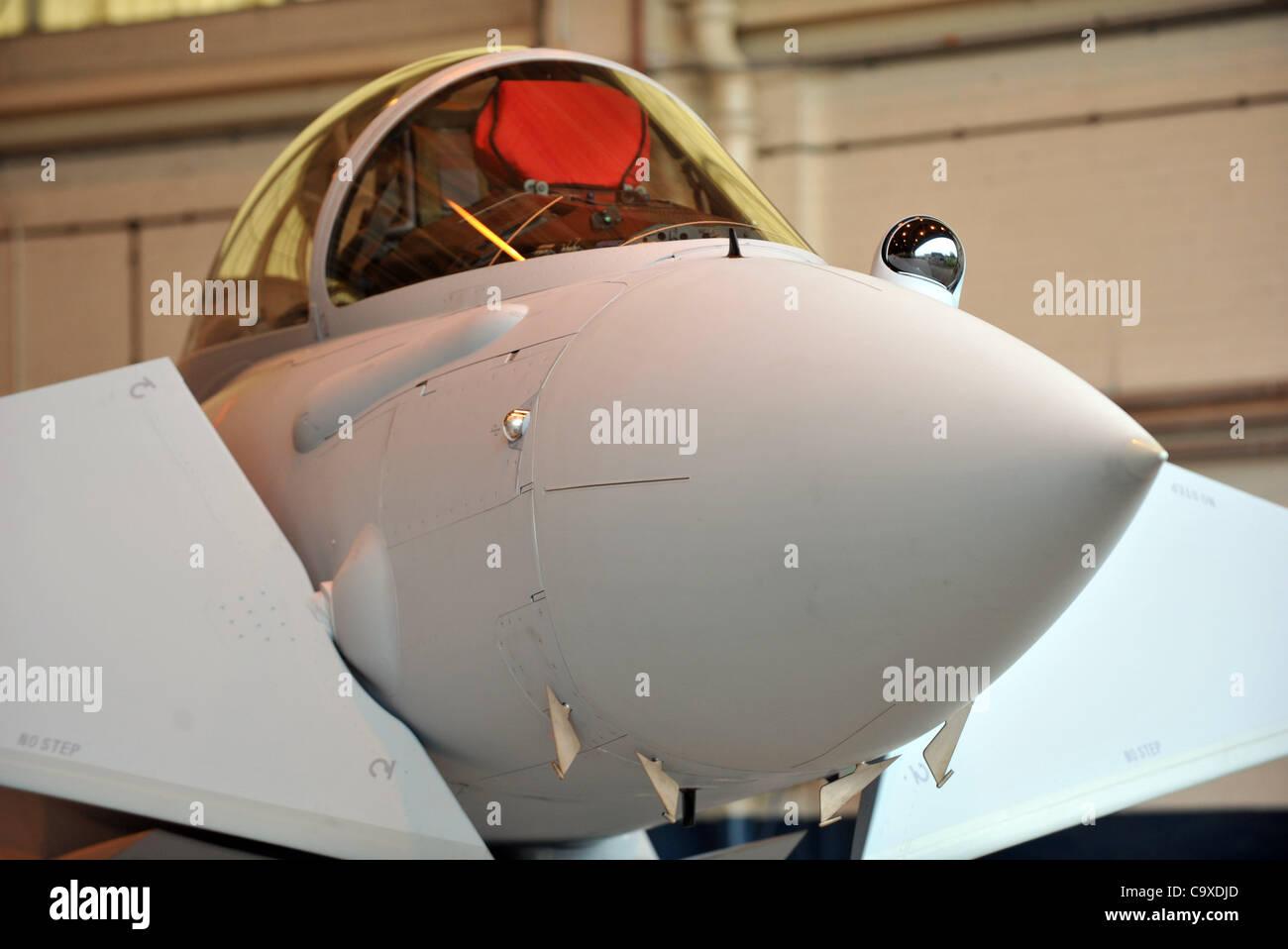 Typhoon FGR4 multi role combat aircraft - Stock Image