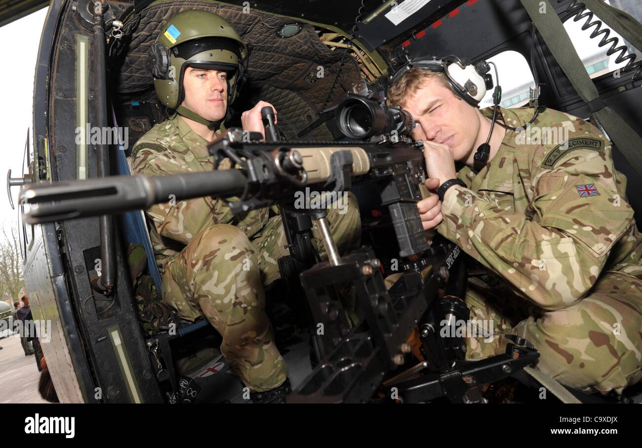 RAF Airborne snipers for the Olympic games. UK - Stock Image