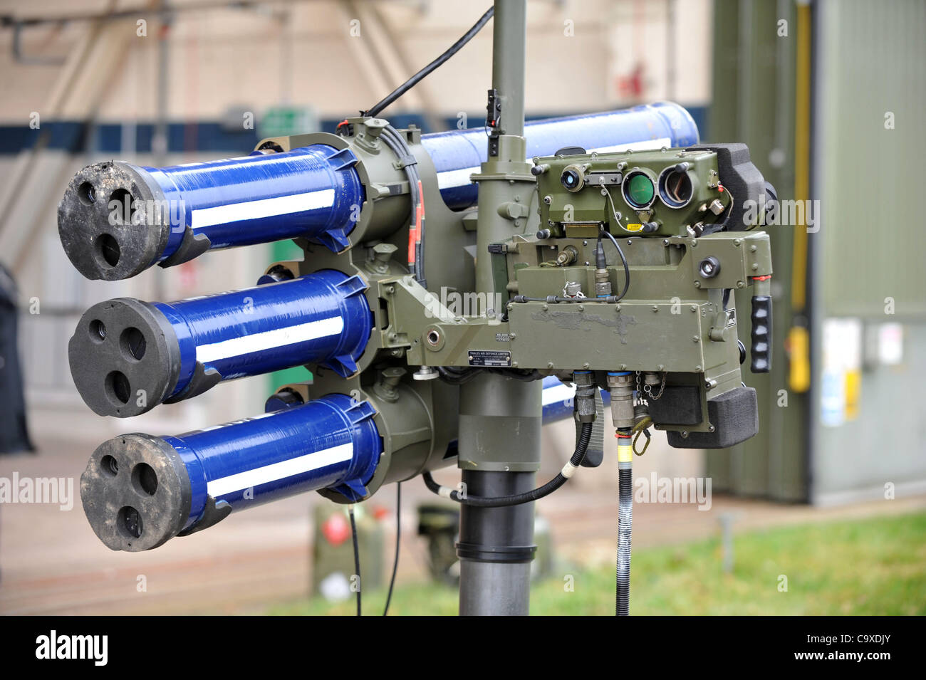 Starstreak high velocity air defence missile system. - Stock Image