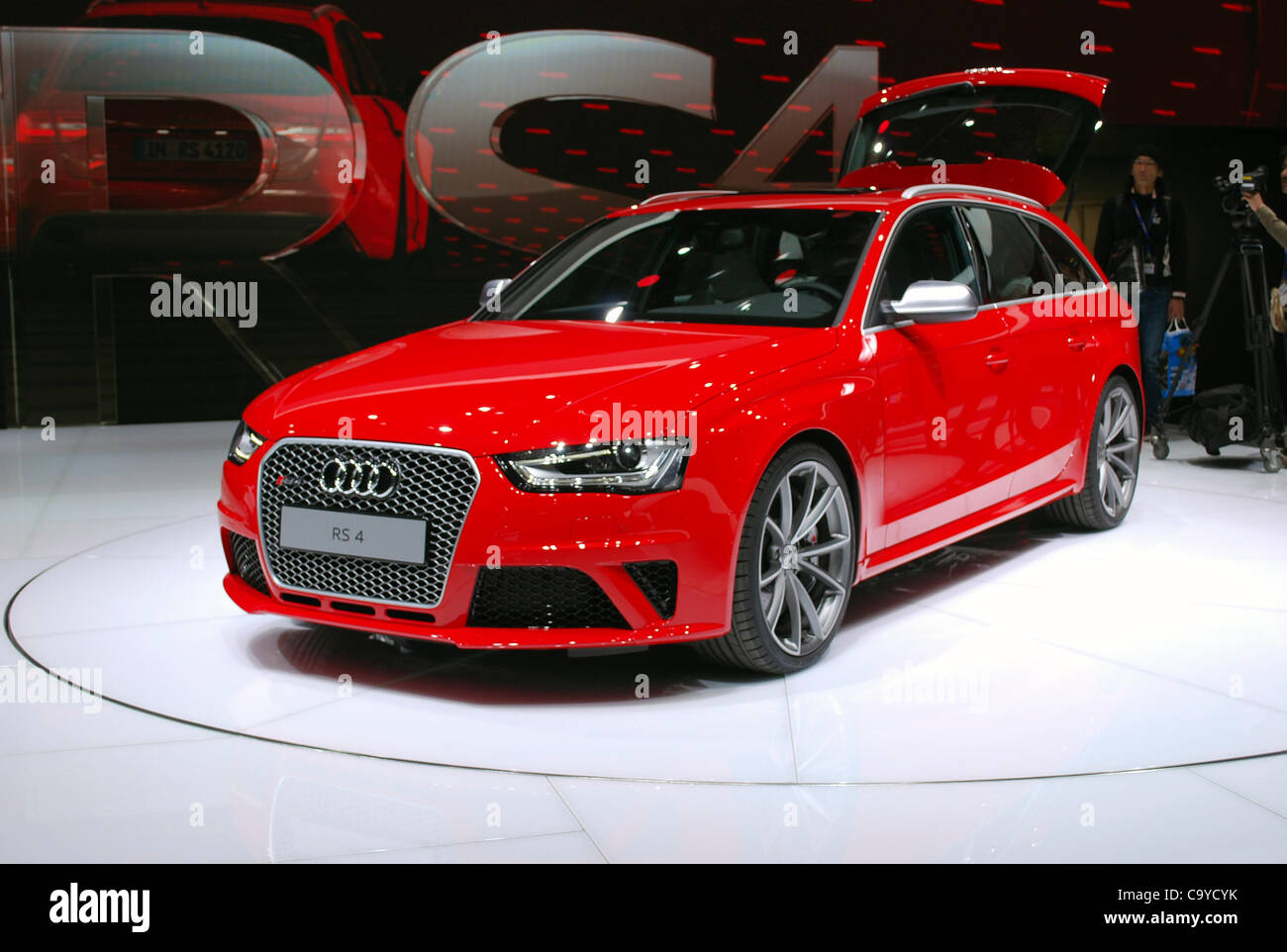 audi rs4 stock photos audi rs4 stock images alamy. Black Bedroom Furniture Sets. Home Design Ideas