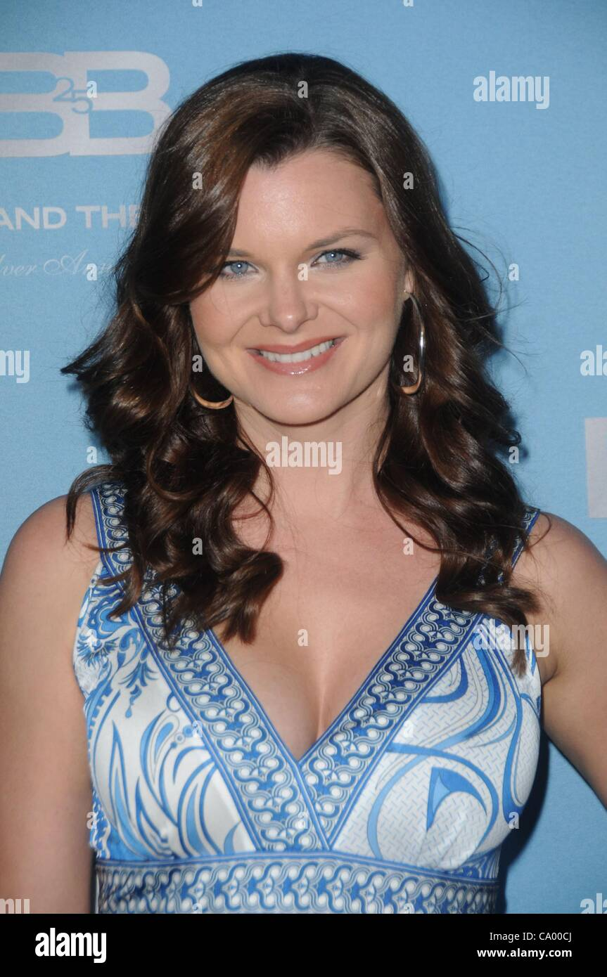 93355ff4b0 Heather Tom at arrivals for THE BOLD AND THE BEAUTIFUL 25th Silver ...