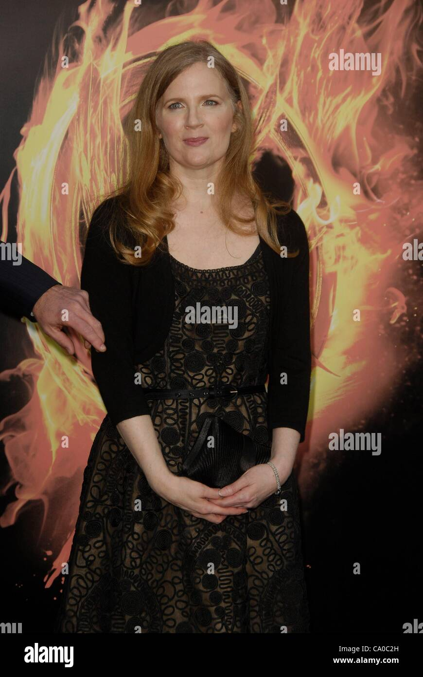 Suzanne Collins At Arrivals For The Hunger Games Premiere Nokia