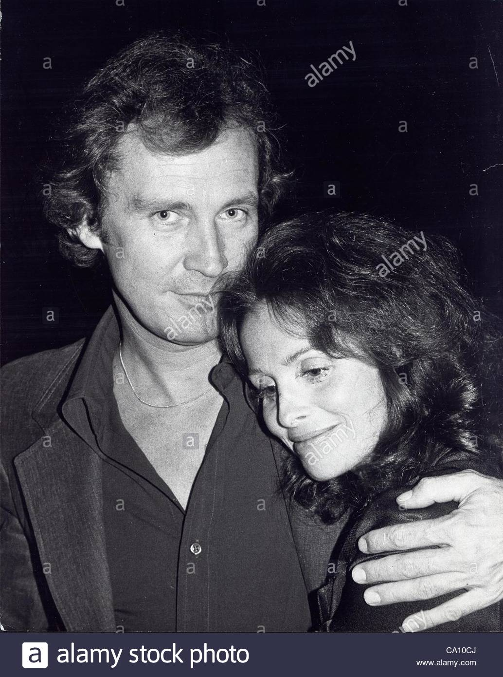 ROY THINNES with wife Lynn Loring.(Credit Image: © Ralph Dominguez/Globe Photos/ZUMAPRESS.com)Stock Photo