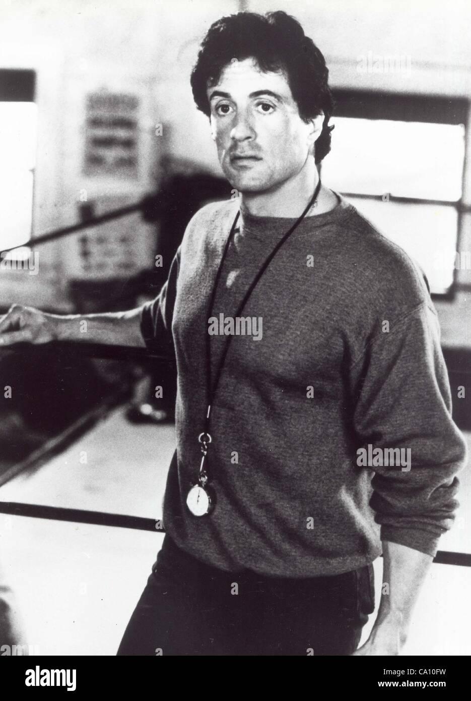 SYLVESTER STALLONE.Rocky V.1990.(Credit Image: © Dpa-Ipol/Globe Photos/ZUMAPRESS.com) - Stock Image