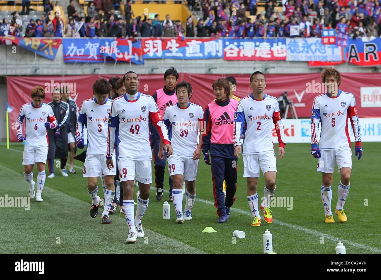 Sports Soccer Football Japan 2012 J League Stock Photos Sports