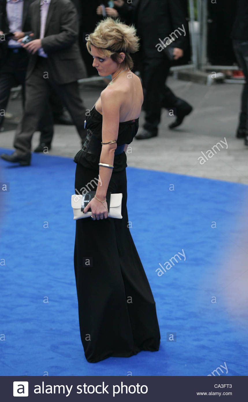 London, UK, 31/05/2012: Bo Bruce attends the Prometheus - UK film premiere at the Empire Leicester Square - Stock Image