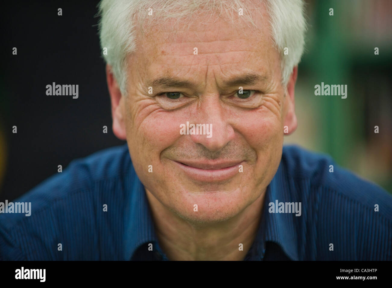 Friday 1st June 2012. Ian Robertson, Professor of Psychology, pictured at The Telegraph Hay Festival, Hay-on-Wye, - Stock Image