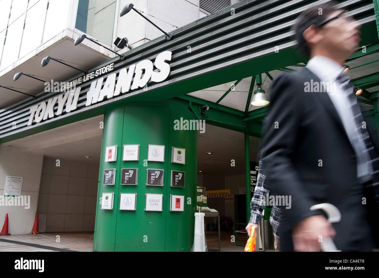 Tokyu Hands Tokyo Stock Photos & Tokyu Hands Tokyo Stock