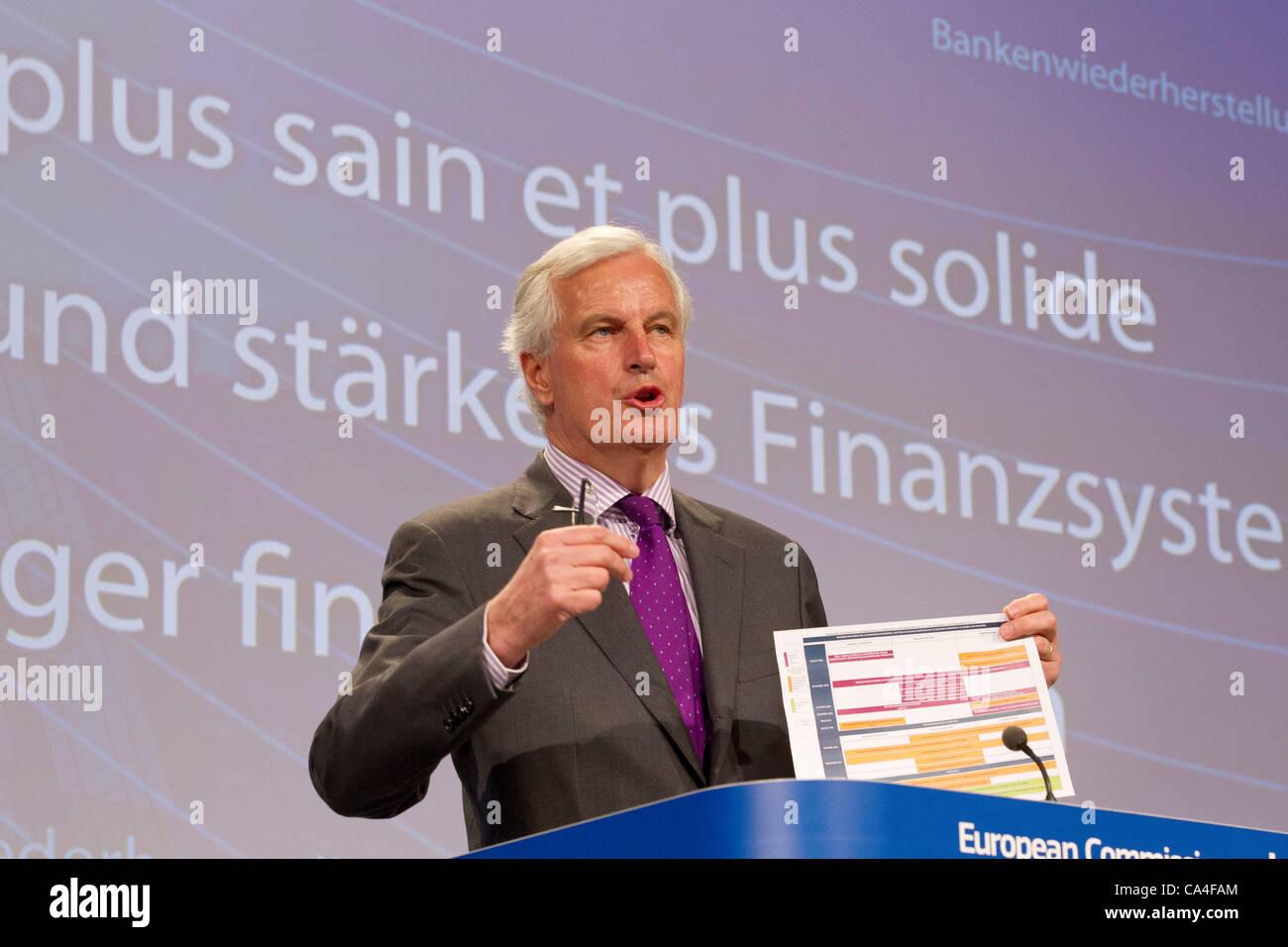 Michel Barnier - Stock Image