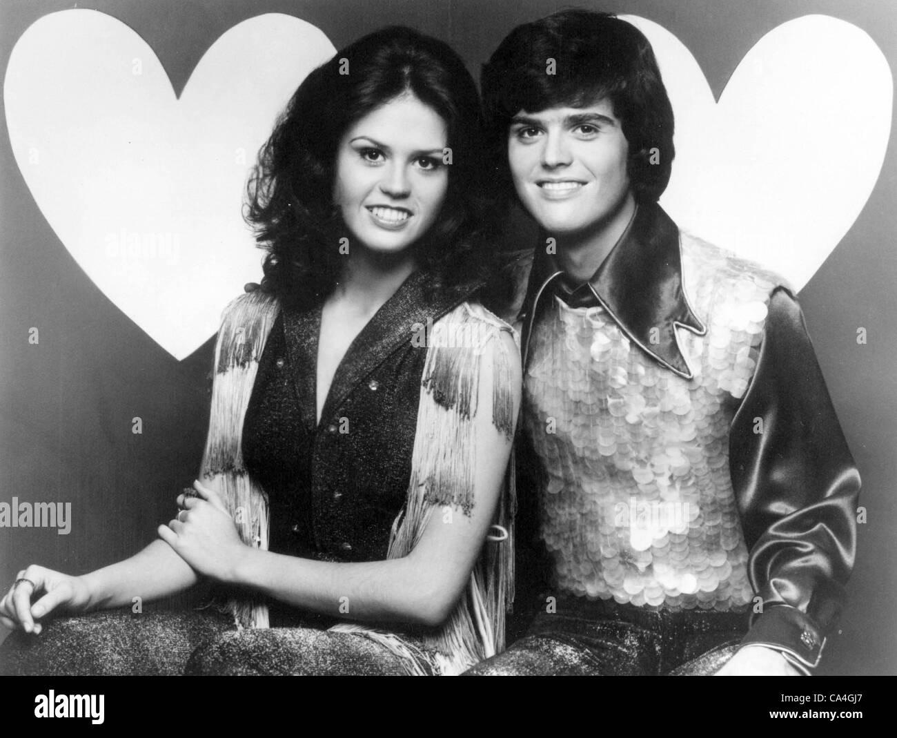 DONNY AND MARIE OSMOND.TV-FILM STILL.(Credit Image: © Globe Photos/ZUMAPRESS.com) - Stock Image