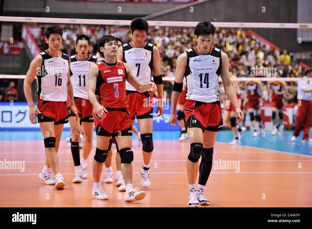 Japan Volleyball High Resolution Stock Photography And Images Alamy