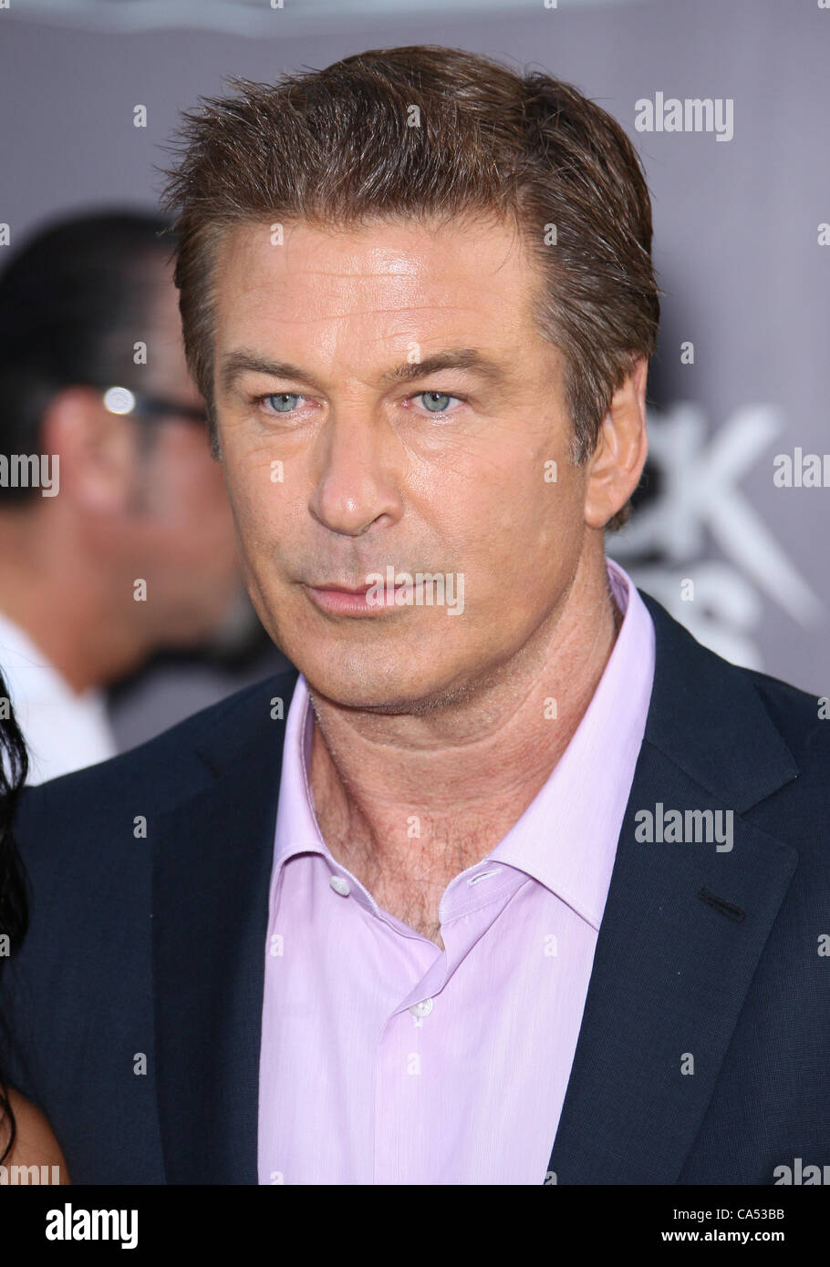 ALEC BALDWIN ROCK OF AGES. WORLD PREMIERE HOLLYWOOD LOS ANGELES CALIFORNIA USA 08 June 2012 Stock Photo