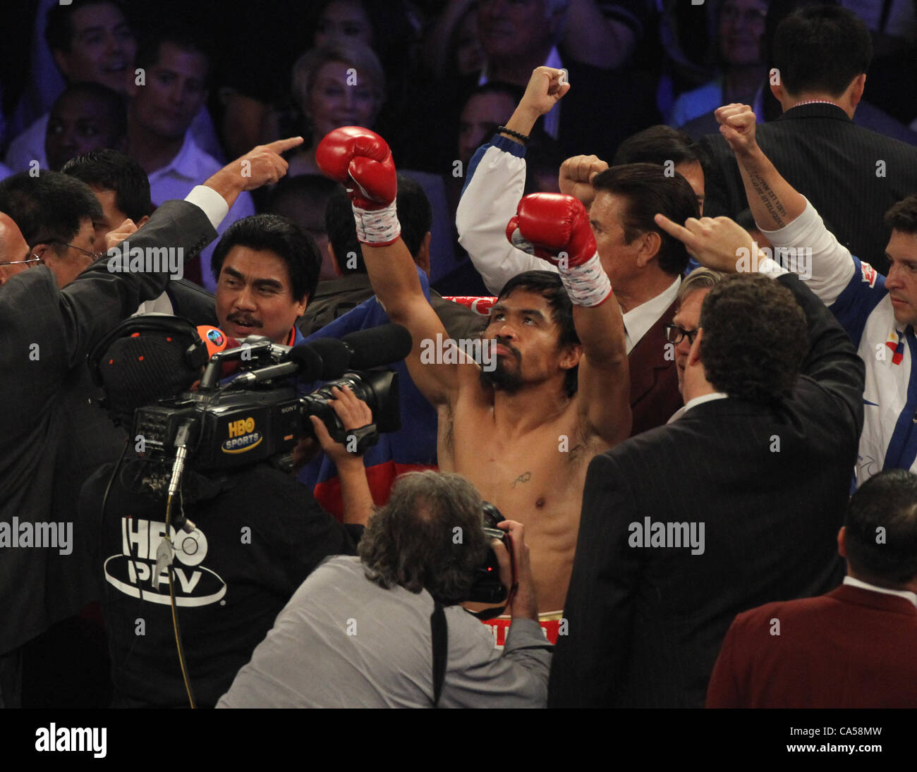 Manny Pacquiao Boxing Stock Photos & Manny Pacquiao Boxing
