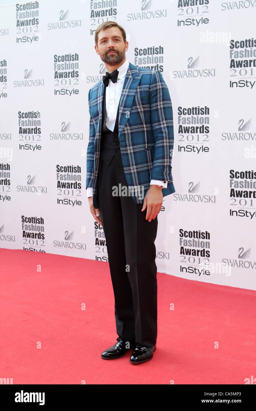 Scottish Fashion Awards 2012; Patrick Grant - Stock Image