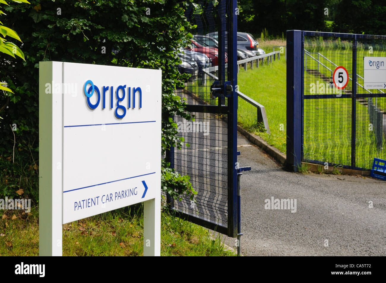 Belfast, 13/06/2012 - Origin fertility clinic is forced to close temporarily after managerial and regulatory problems - Stock Image