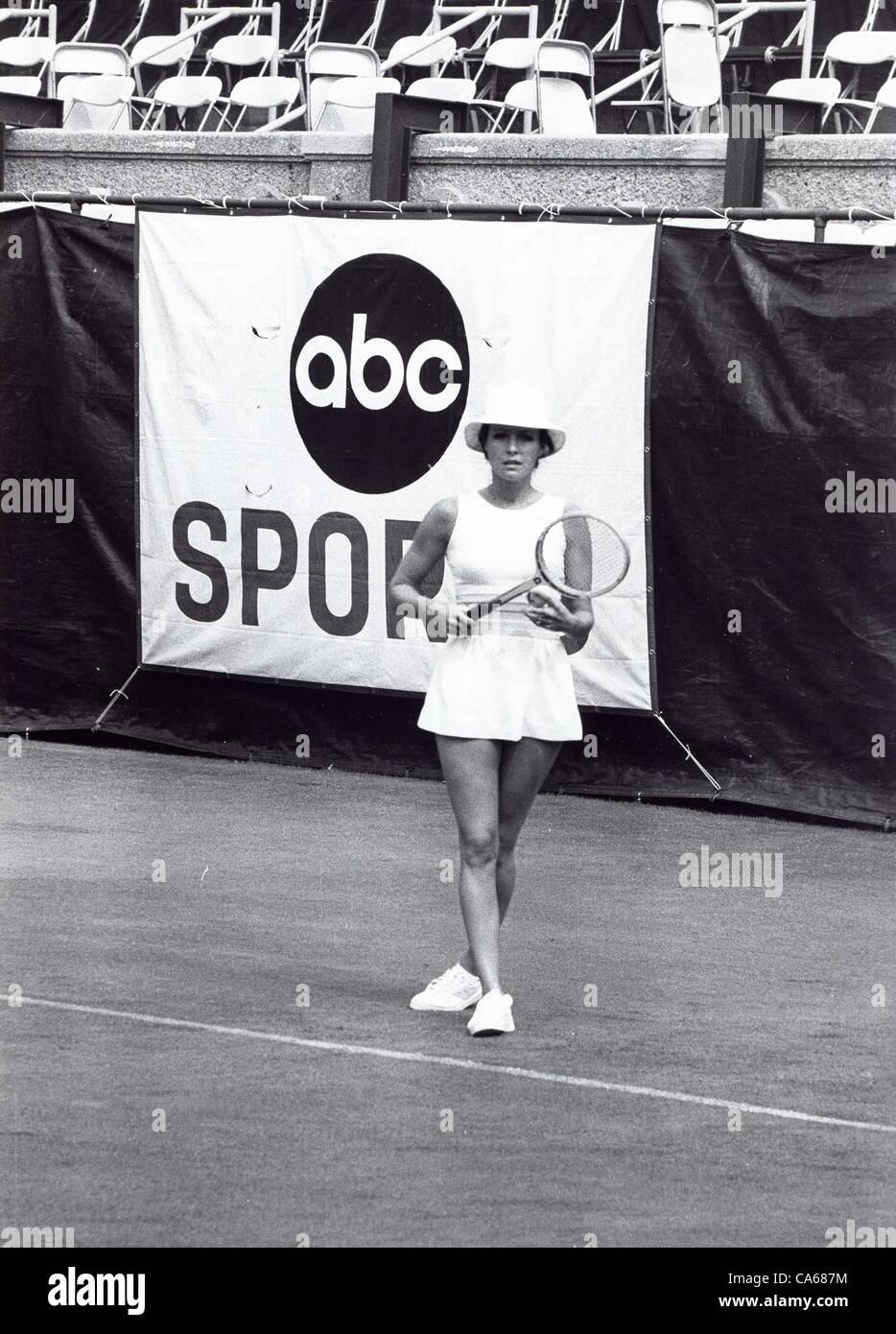 JENNIFER O'NEILL at RFK Tennis tourn.(Credit Image: © Bob Fitzgerald/Globe Photos/ZUMAPRESS.com) - Stock Image