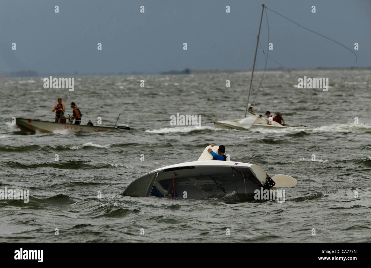 Centerboard Sailboat Stock Photos & Centerboard Sailboat Stock
