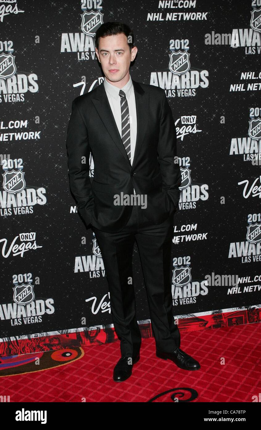 Colin Hanks In Attendance For 2012 National Hockey League Nhl Awards
