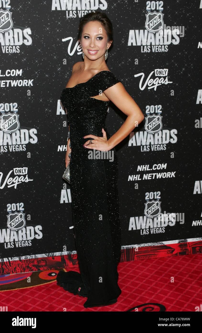 Cheryl Burke In Attendance For 2012 National Hockey League Nhl Stock