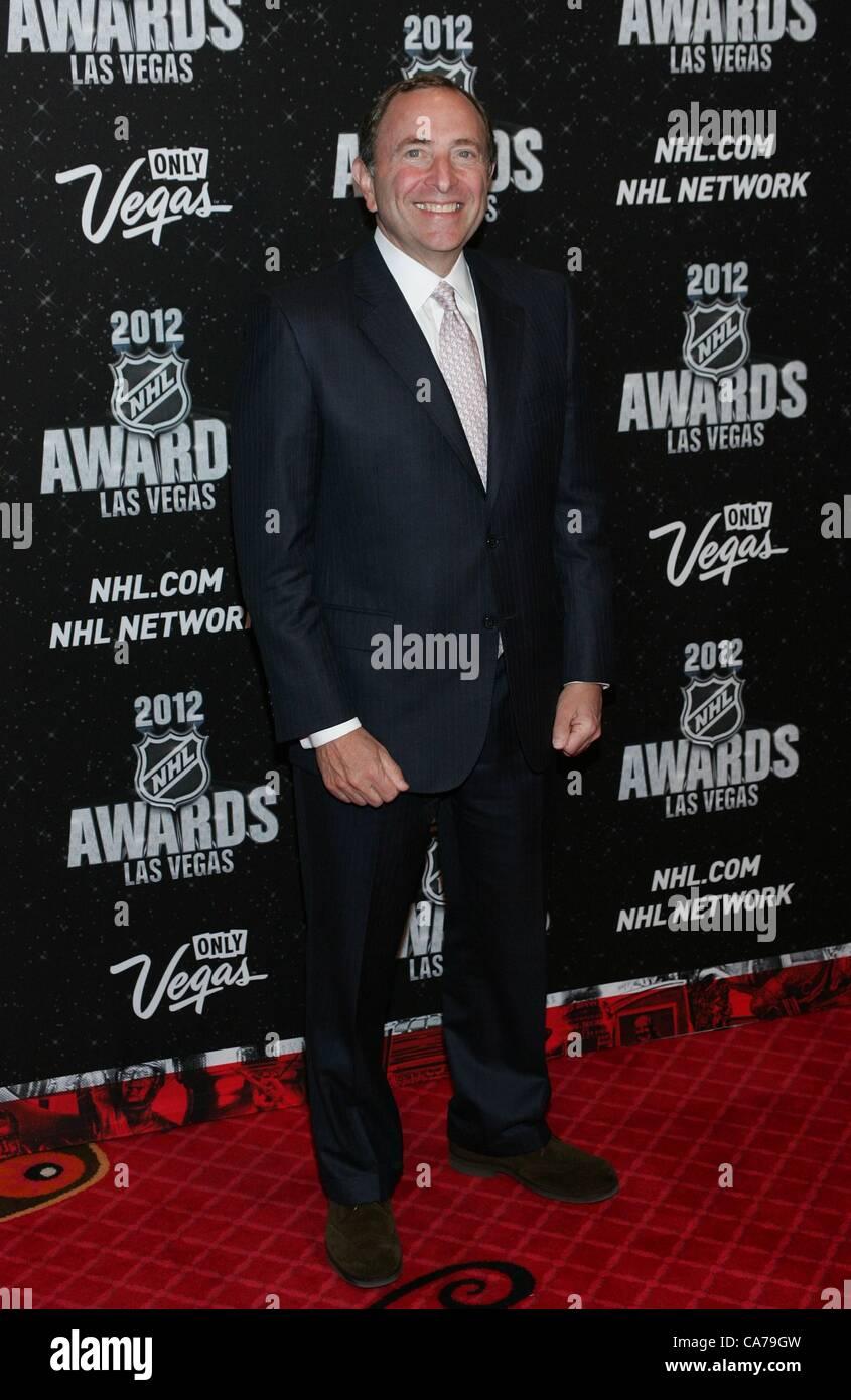 Gary Bettman In Attendance For 2012 National Hockey League Nhl Stock