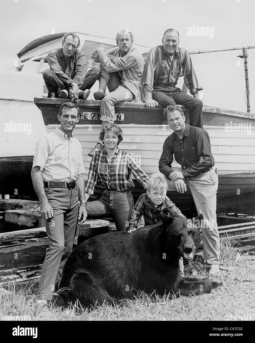 DENNIS WEAVER IN ''GENTLE BEN''.SUPPLIED BY SMP-  PHOTOS, INC..TV-FILM-STILL(Credit Image: © - Stock Image