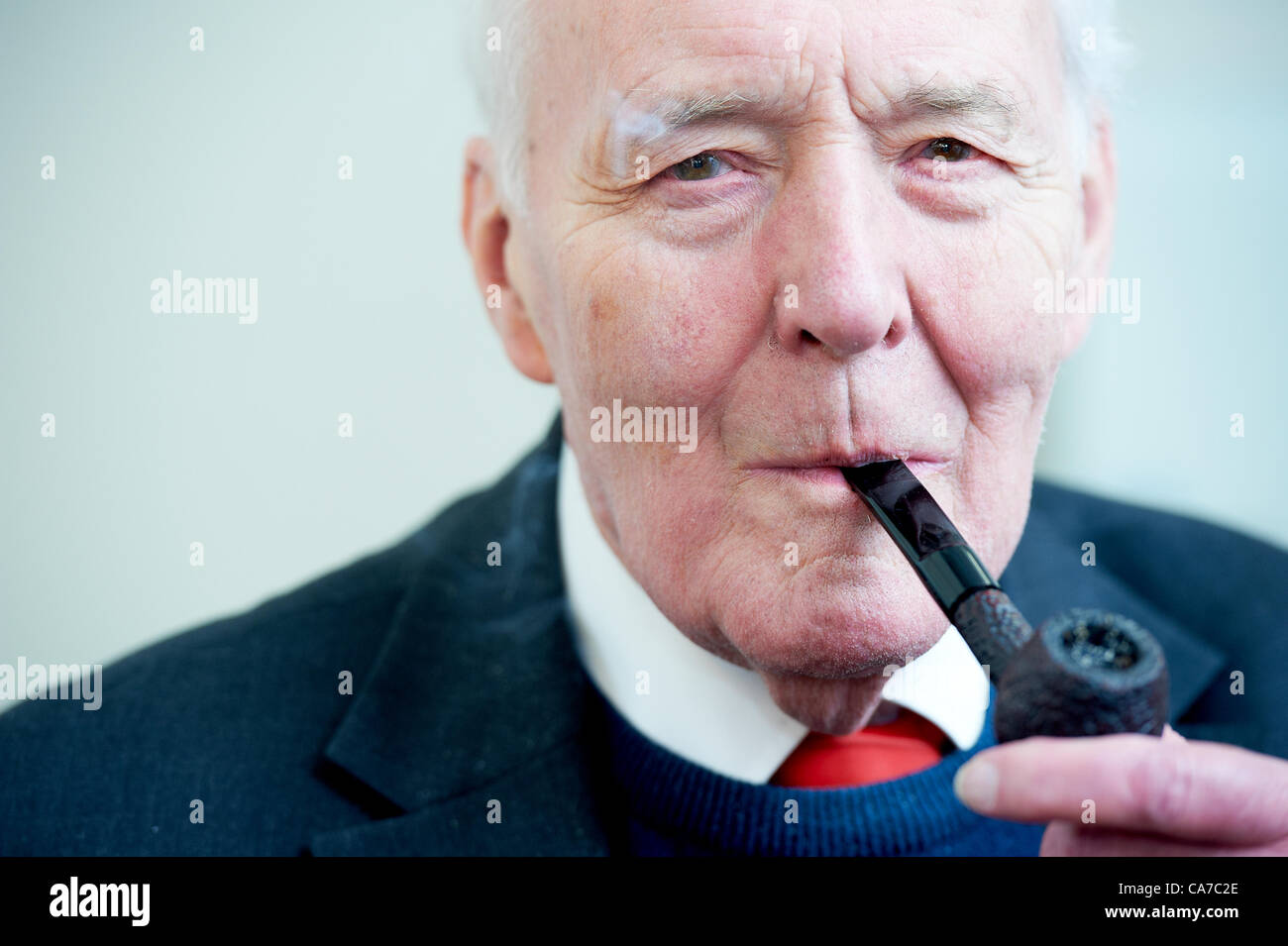 Tony Benn, the longest serving MP in the history of the Labour party. UK politics. - Stock Image