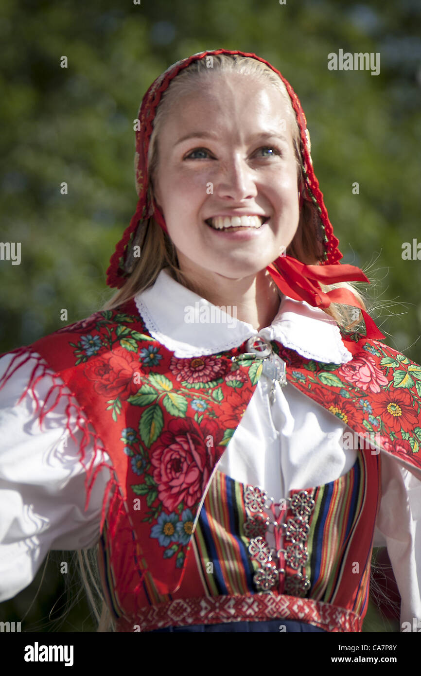 Swedish Folk Dress