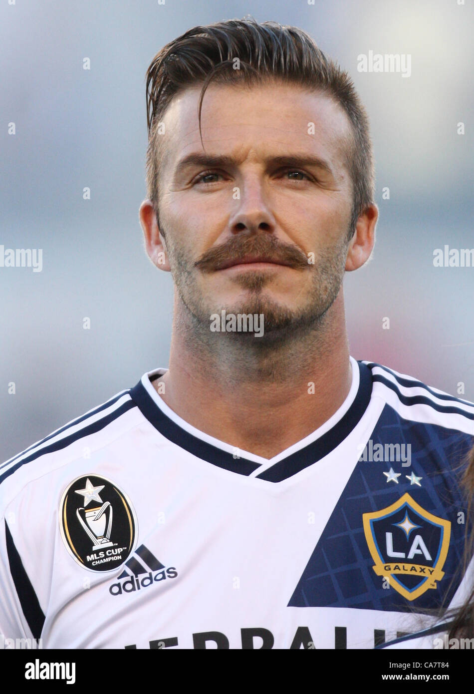 Adidas David Beckham LA Galaxy MLS Jersey Size: S Adidas Los