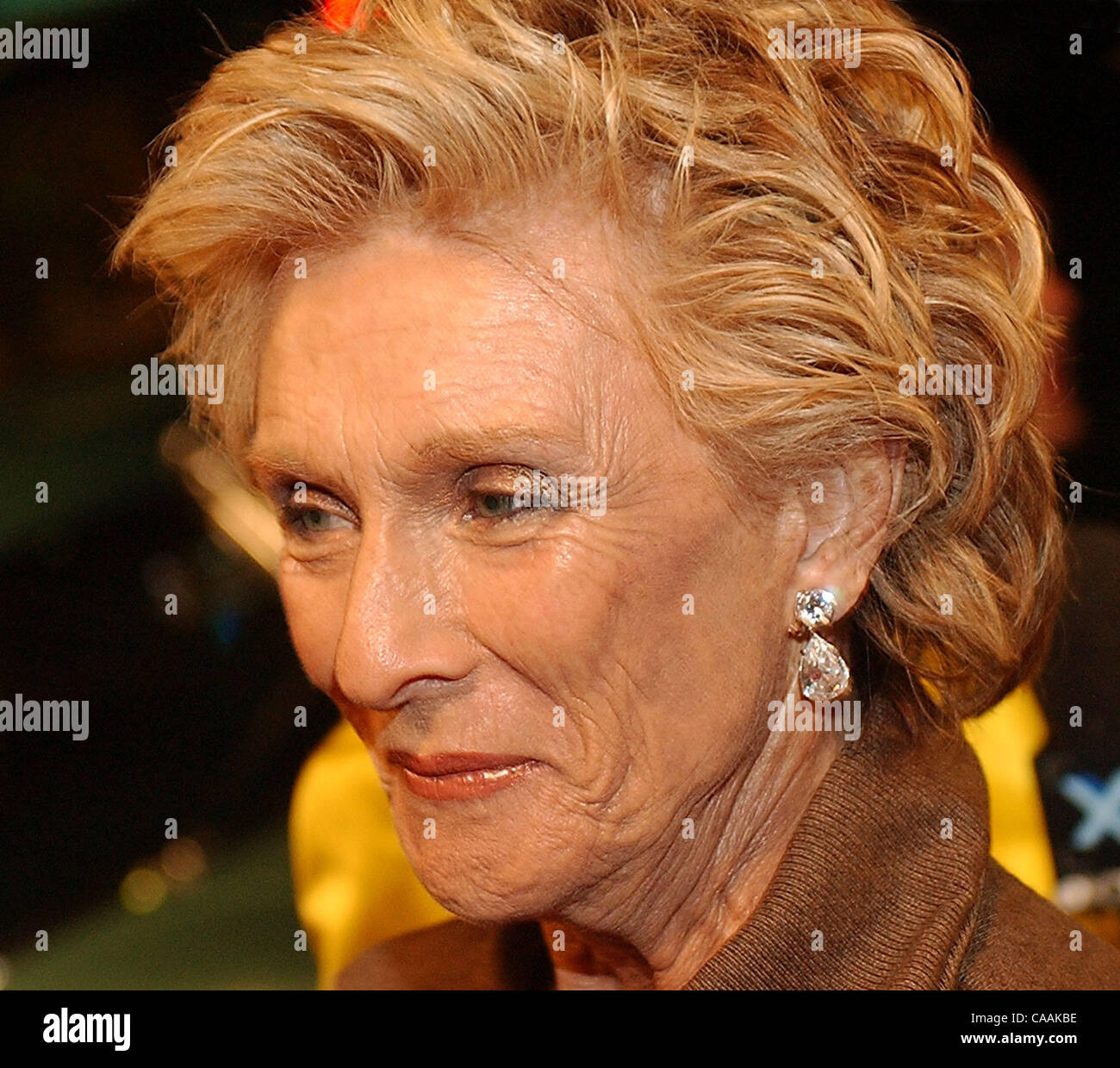 Sep 18, 2003; Beverly Hills, CA, USA; Actress CLORIS LEACHMAN at an event honoring the 55th Primetime Emmy nominees - Stock Image