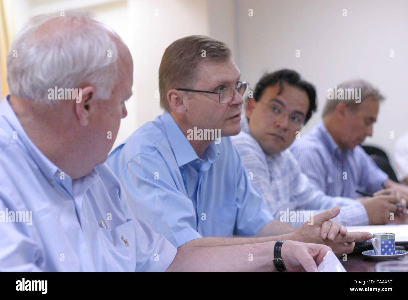 World Food Programme Country Director Torben Due Explains Wfp Stock Photo Alamy
