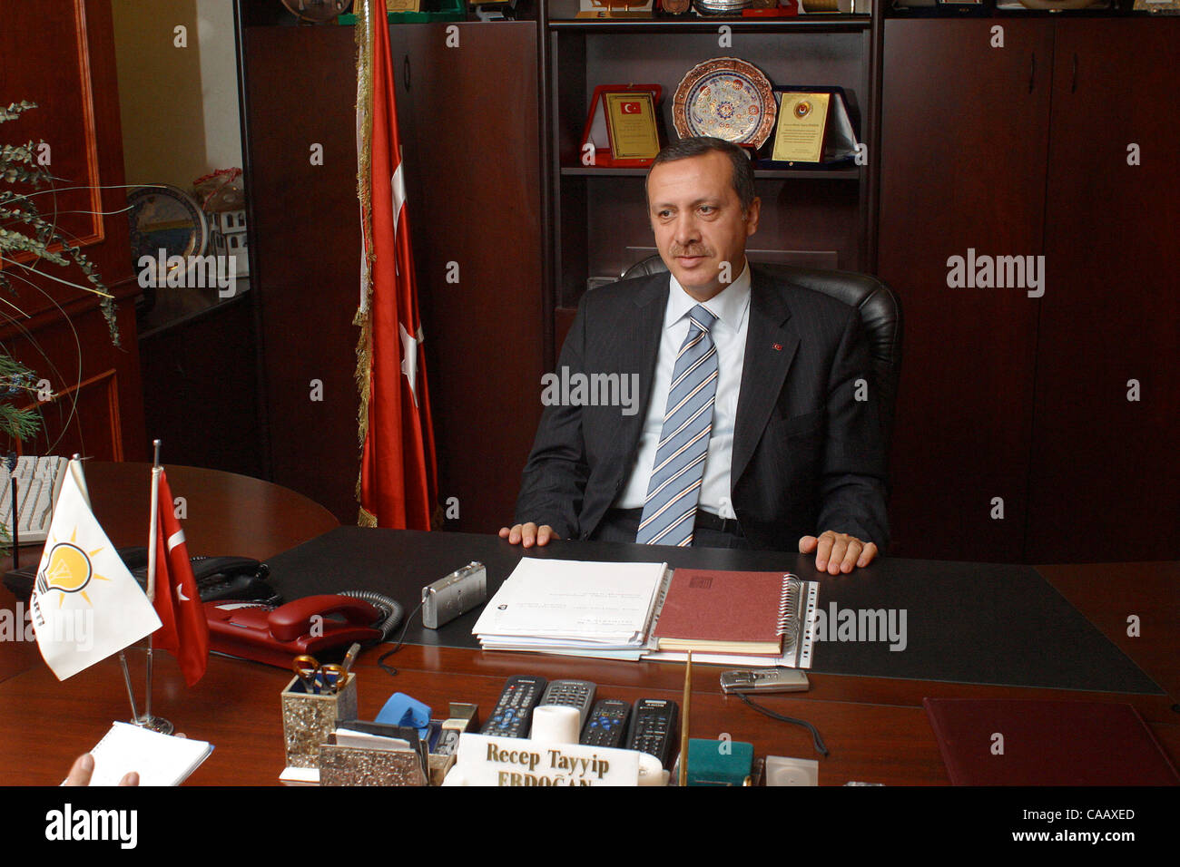 turkey home office. Nov 25, 2003; Istanbul, TURKEY; Recep Tayyip Erdogan, Prime Minister Of Turkey Home Office
