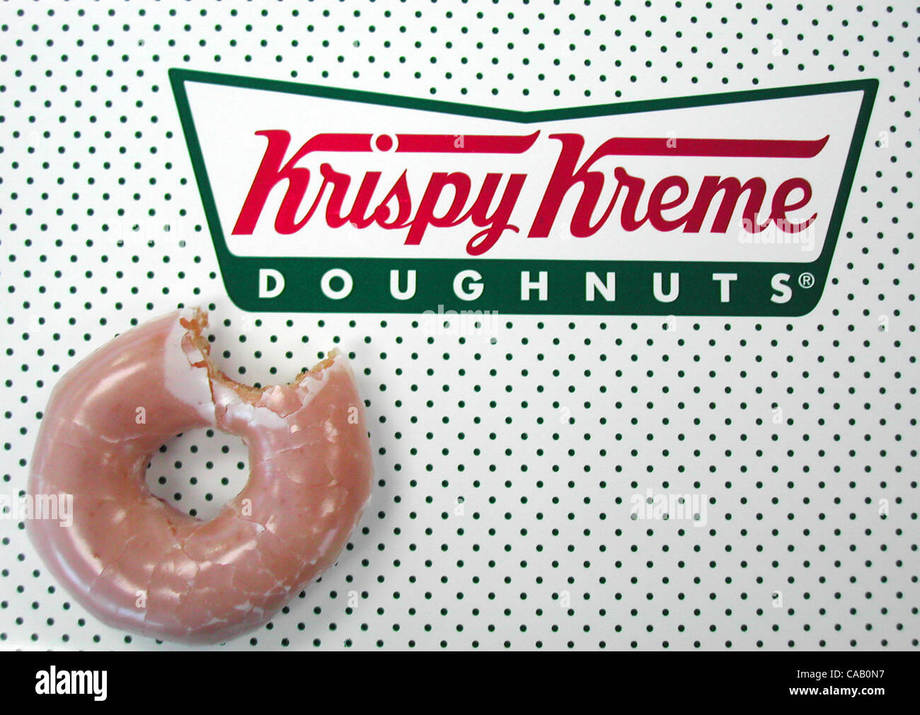 Mar 15, 2004; Los Angeles, CA, USA; Could the Krispy Kreme doughnut ...