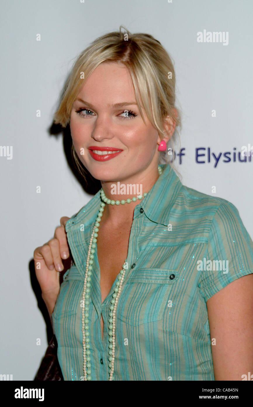 Apr 23, 2004 - Hollywood, California, USA - Sunny Mabrey at GQ ...