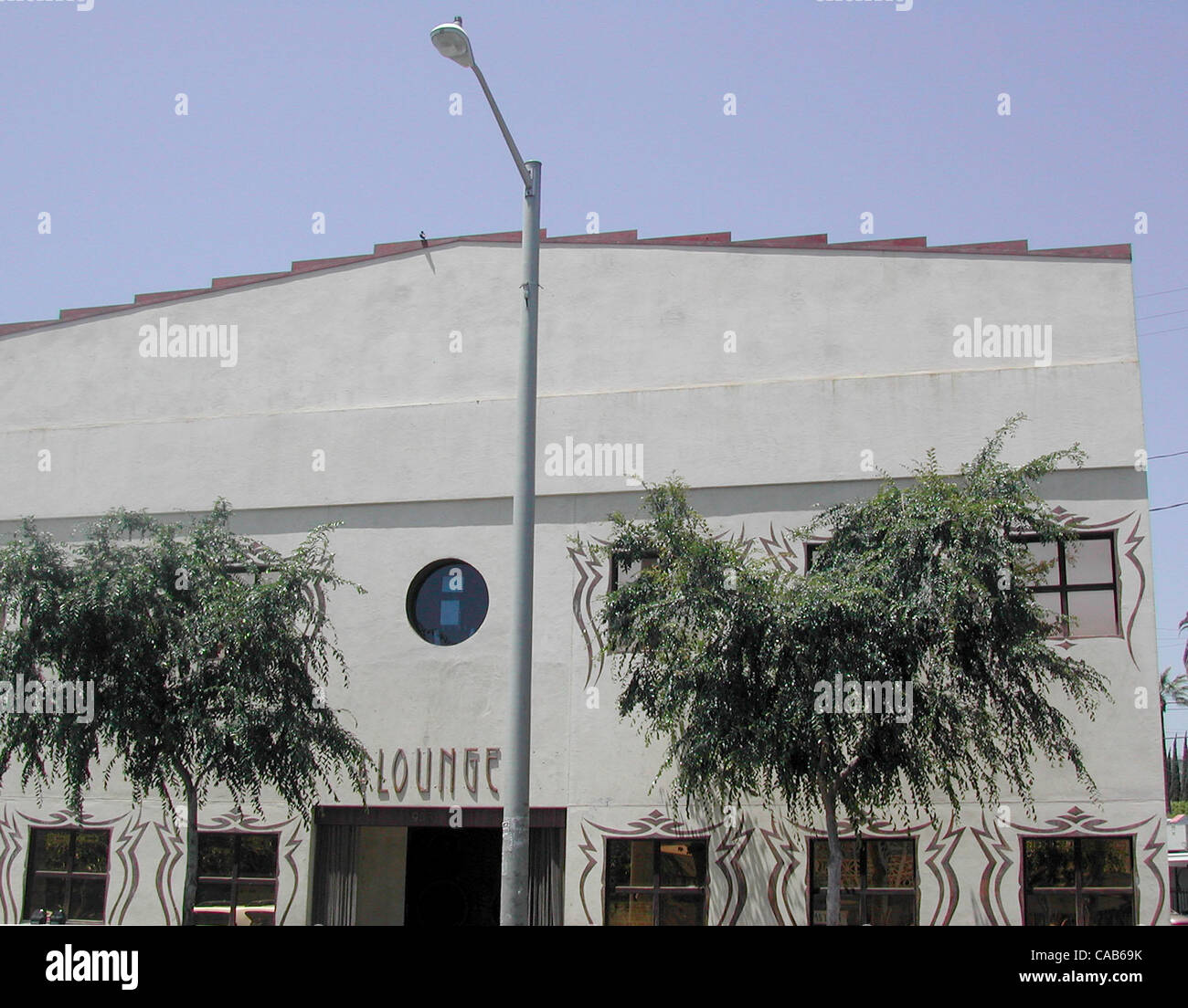 May 08, 2004; Los Angeles, CA, USA; A popular club with Hollywood A-listers. The Lounge, club, hotspot. Stock Photo