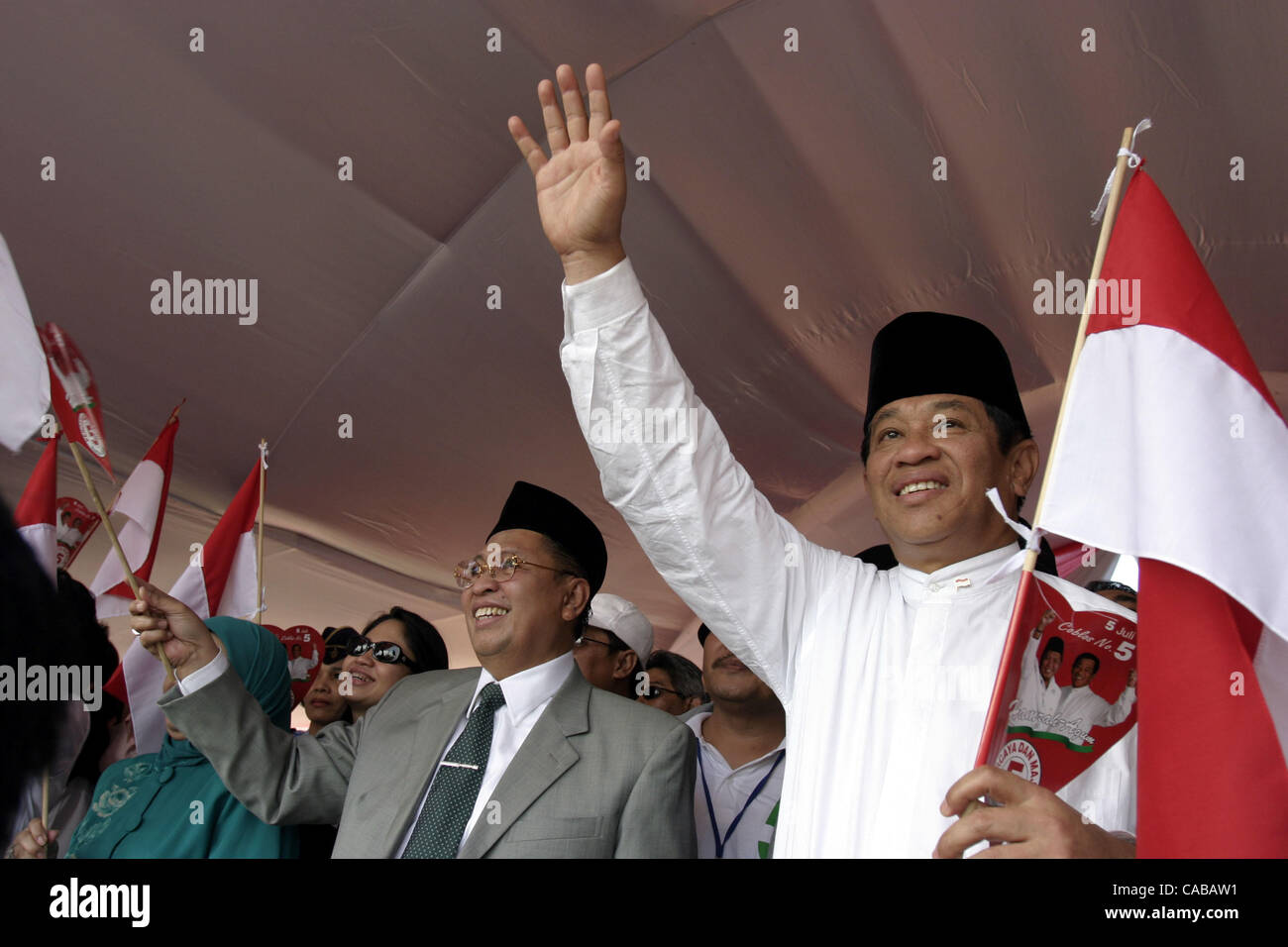 Indonesian Vice President Stock Photos & Indonesian Vice