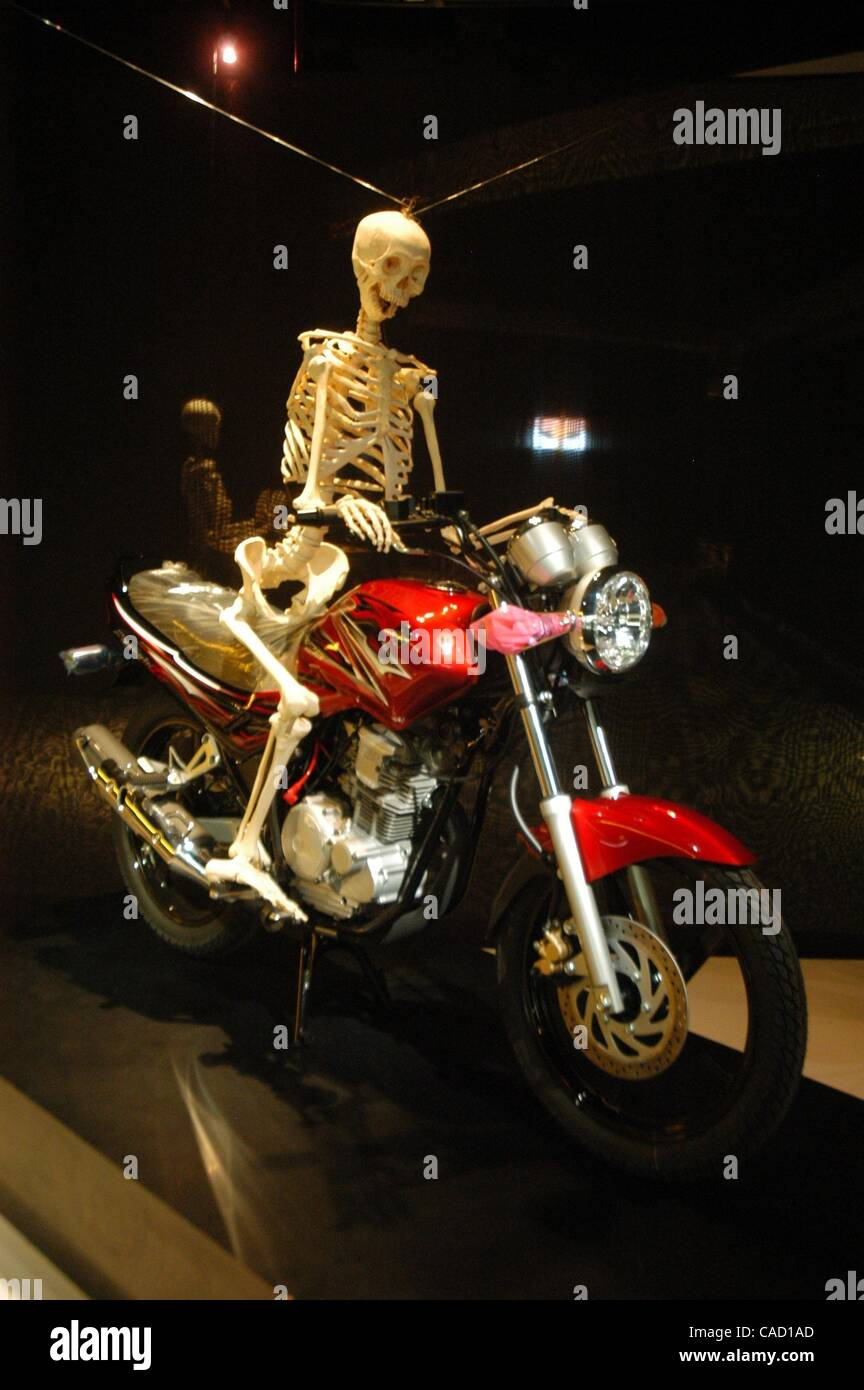 Motor Cycle On Display Stock Photos & Motor Cycle On Display Stock ...