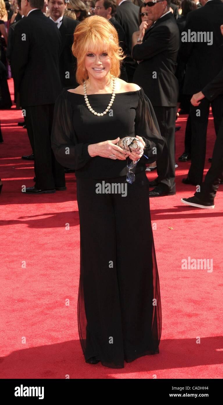 Aug. 29, 2010 - Los Angeles, California, USA - Aug 29, 2010 - Los Angeles, California, USA - Actress ANN MARGRET - Stock Image